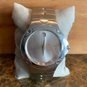 Movado Sports Edition Stainless Steel Watch
